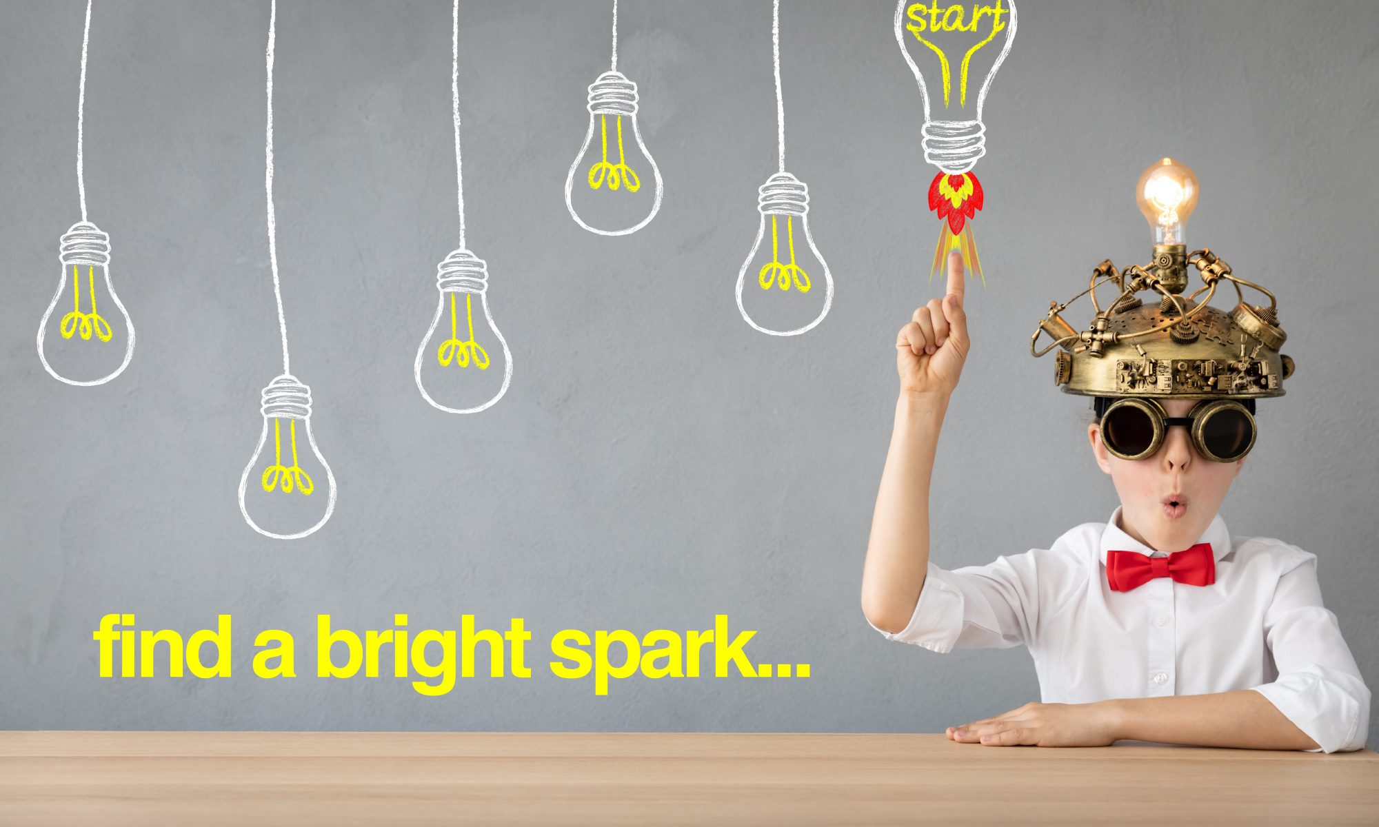 Looking for a bright spark