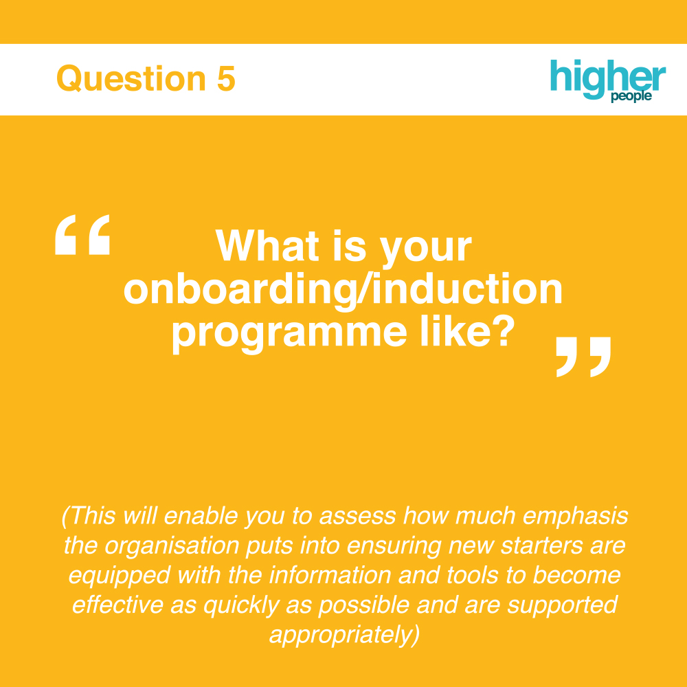 Question 5 of Interview Questions